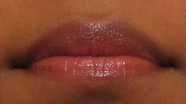 1. One light layer of YSL Rouge Pur Couture Vernis À Lèvres in Naughty Mauve