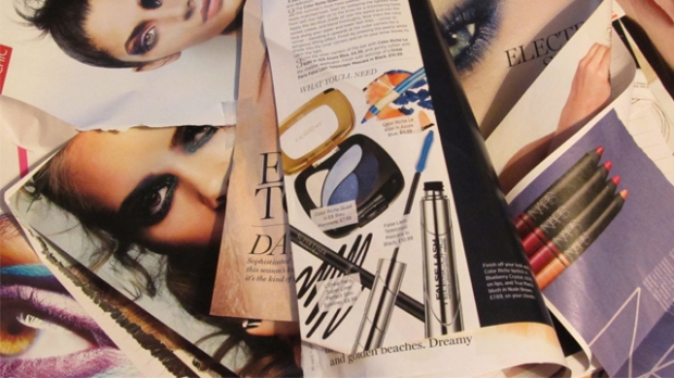 A few pages from my beauty scrapbook