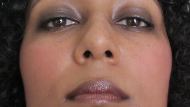 Goth by Accident full face close up