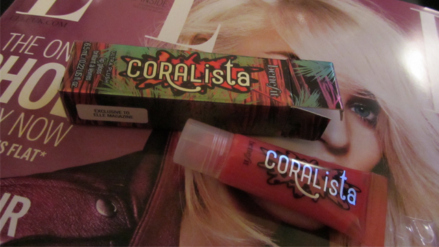 Elle Magazine and Benefit Coralista