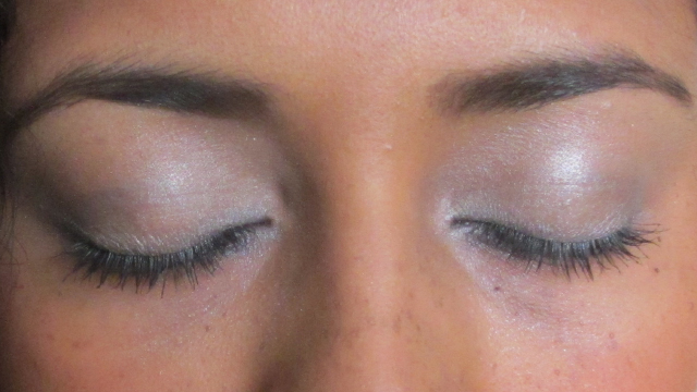 Shimmery Smoky eye (closed)
