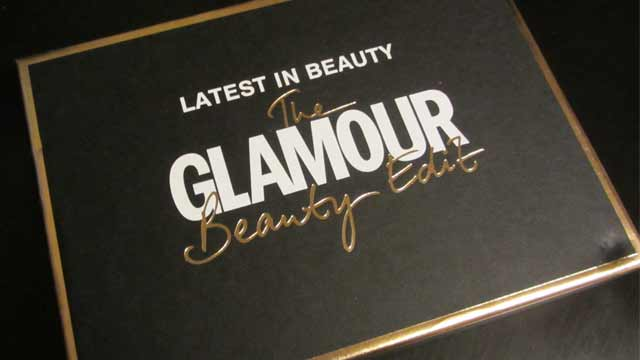 Latest in Beauty the Glamour Beauty Edit Box