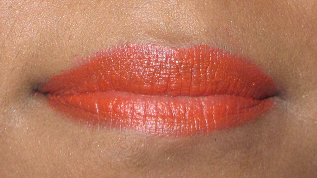 Catwalk Orange and Metal lips