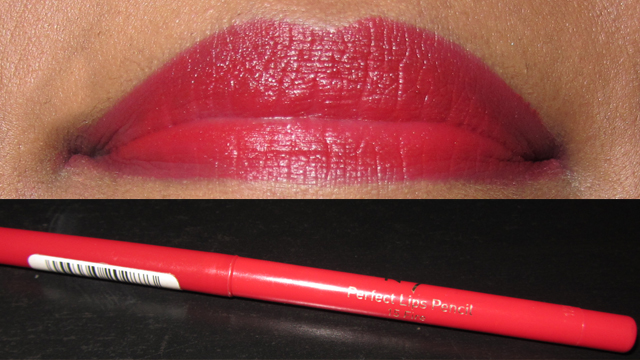 No7 Perfect Lips Pencil in 15 Fire