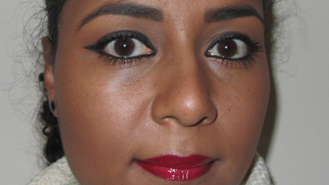 No7 Perfect Lips Pencil in 15 Fire with Seventeen Ultimate Volume Gloss in Dainty Indigo Pansy Kiss