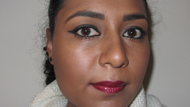 Seventeen Lip Liner in Claret with Seventeen Ultimate Volume Gloss in Very Berry