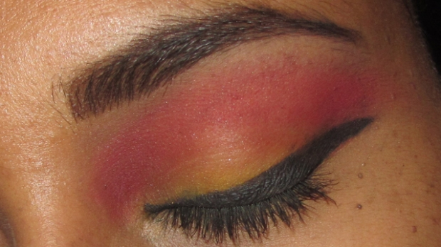 Inspired: Yellow and Pink-Purple Eyes Matte