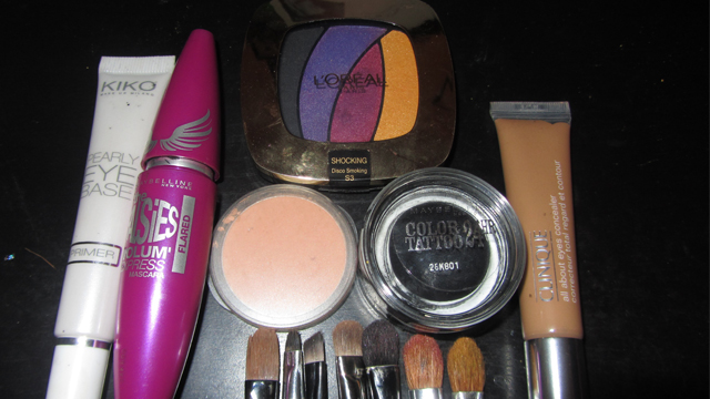 Inspired: Yellow and Pink-Purple Eyes Shimmer kit