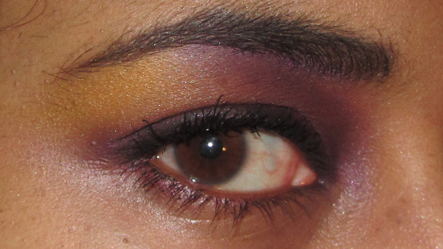 Review: L'Oreal Shocking Les Ombres Color Riche Eyeshadow Quad in Disco Smoking