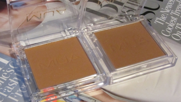 Bronzers in Shade 1 and Shade 3