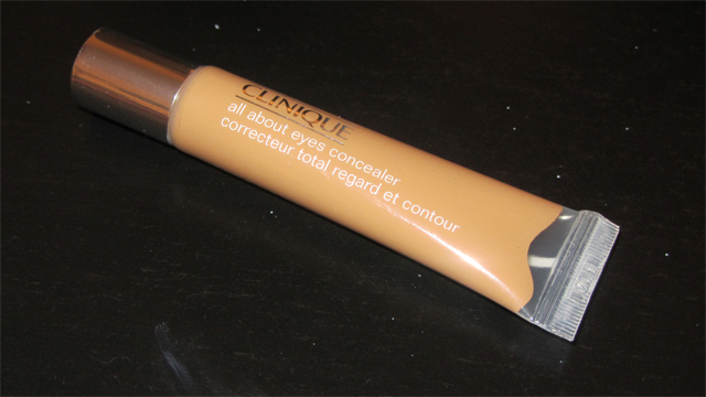 Clinique All About Eyes Concealer in Deep Honey