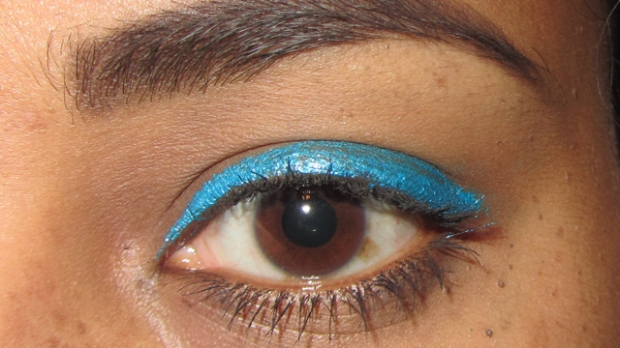 MUA Liquid Eyeliner in Shade 2 - not easy to work with!
