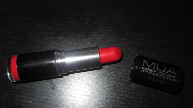MUA Red Lipstick in Shade 13 back together again!