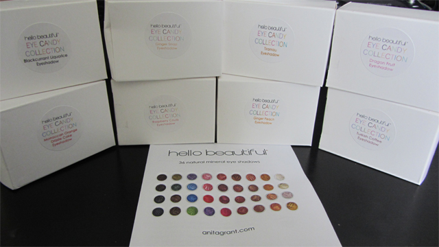 My First Anita Grant Spree eyeshadow boxes