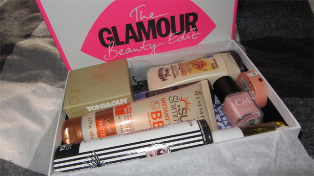 Glamour Beauty Edit Box