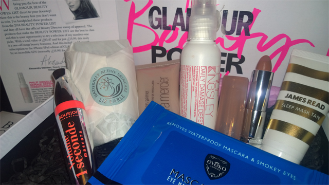 Glamour Beauty Power List Box 2014