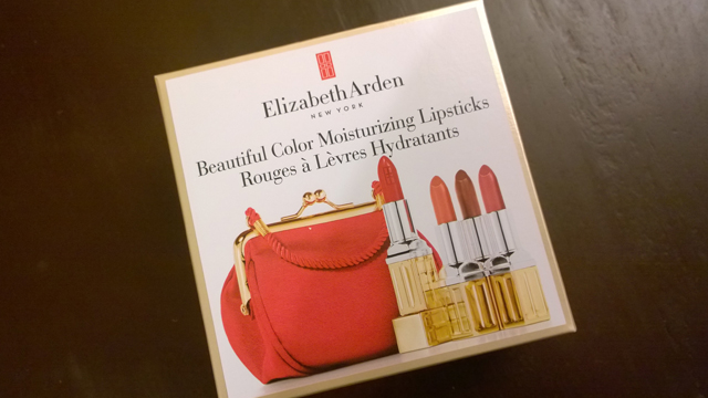 Elizabeth Arden Beautiful Color Moisturizing Lipsticks Christmas Gift Set
