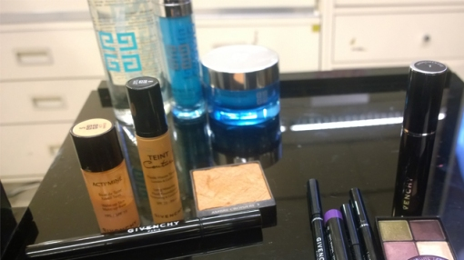 Skincare, base and eyes
