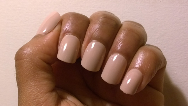 Elegant Touch Express Nails in Pastel Nude Caramel
