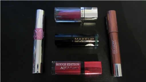 This Week's Lip Colours 10.04.15