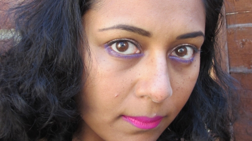 Spring Pink, Violet and Copper Full Face