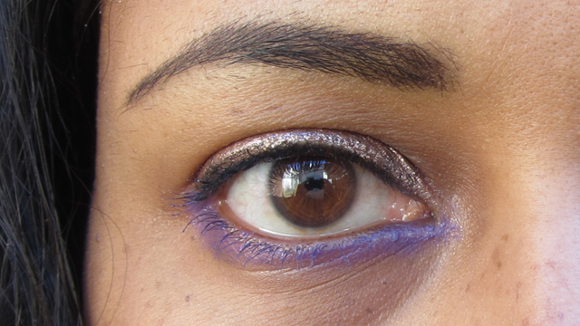 Spring Pink, Violet and Copper Eye
