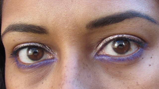 Spring Pink, Violet and Copper Eyes