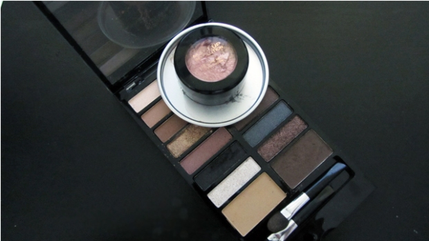 Quick Copper Smokey Eyes With Makeup Revolution Kit