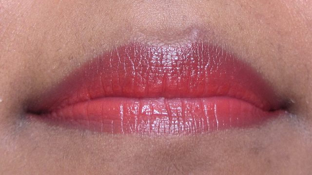 Bright Silver Eyes With Red Rosy Lips - lips