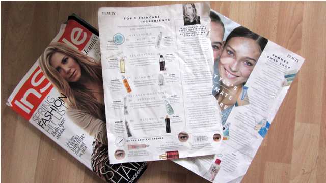 Beauty Scrapbook: Skincare Ingredients, Cleansing and Skincare Routines from InStyle Magazine