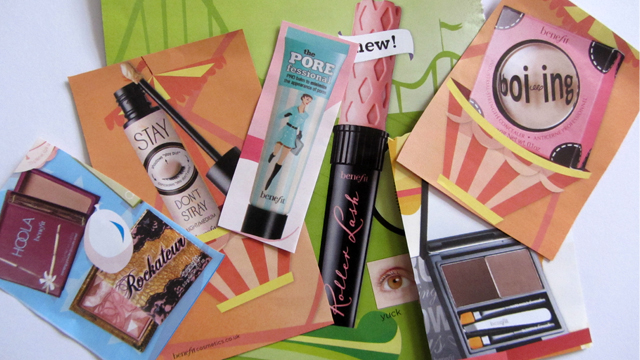 Benefit Makeup Lesson -My Star Products