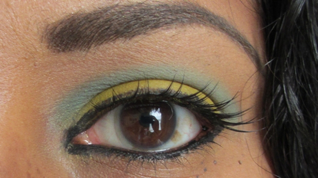 Blue and yellow eyes