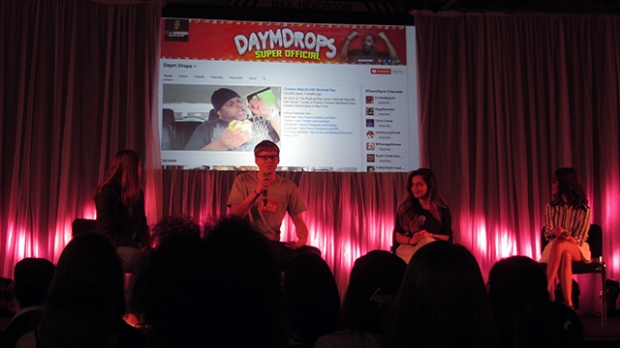 Panel talk with YouTube