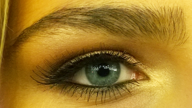 Perfect brows, lashes and eye make-up!
