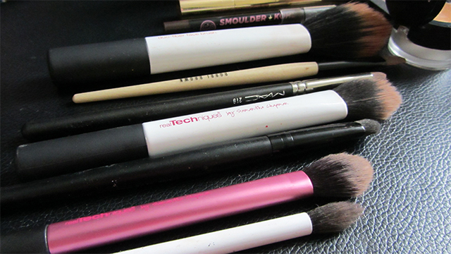 Not that many brushes though...