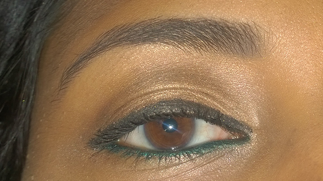 Daytime Glow eye close-up