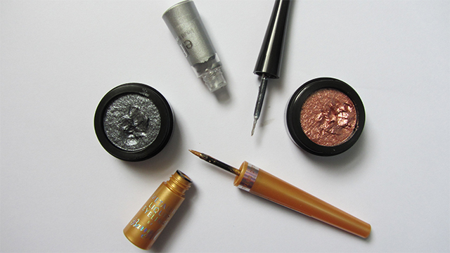Metallic make-up