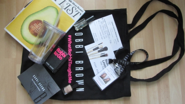 The goodie bag!