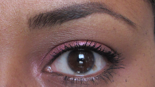 Too Faced Better Than Sex Mascara two coats with Anita Grant Mineral Eyeshadow in Moroccan Orange Drizzle Cake