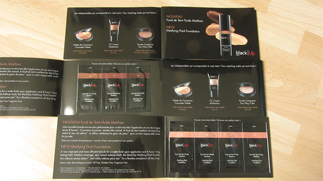 Matifying Fluid Foundation sample set