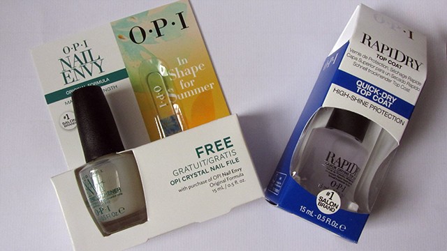 OPI essentials - Nail Envy Original and Rapidy