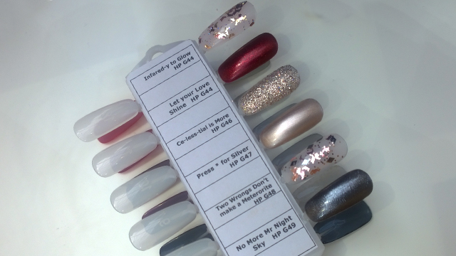 The OPI Starlight Collection shades continued