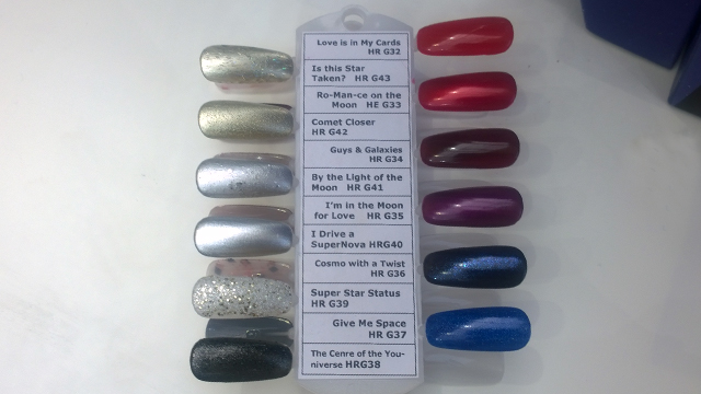 The OPI Starlight Collection shades