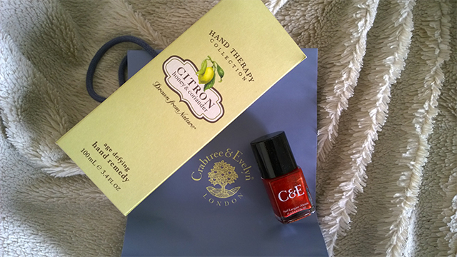 Hand and nail care from Crabtree & Evelyn