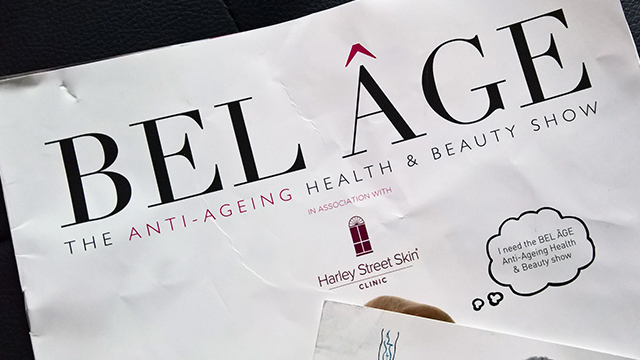 Bel Age Anti-Ageing Show 2016 Programme