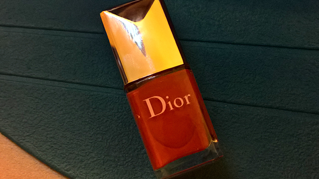 One of the Dior nail polishes I was thinking about for my mini manicure