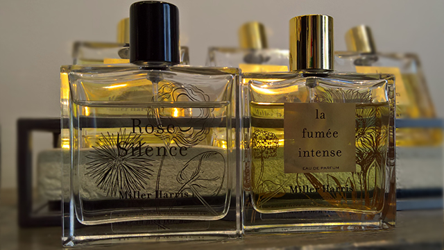 Miller Harris Rose Silence and La Fumée Intense