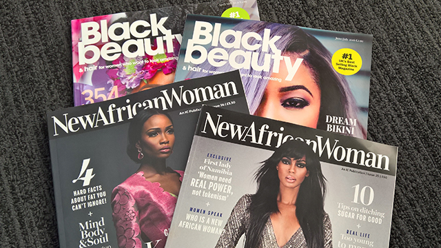 Black Beauty & Hair and New African Woman magazines The Afro Hair and Beauty Live 2016 Show