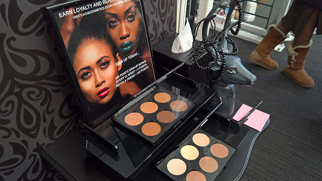 Cache Cosmetics contour kits Afro Hair and Beauty Live 2016 Show