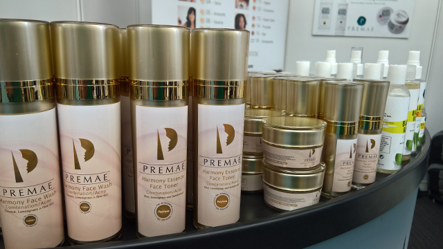 Premae skincare dr clare Afro Hair and Beauty Live 2016 Show